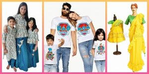 Family Matching Dress for Birthday Party, Indian Wedding Online