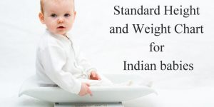 Standard Height and Weight Chart for Indian Boys and Girls, Age wise