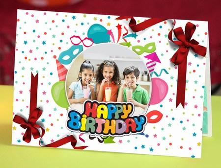 Personalized Birthday Greeting, Birthday Invitation Cards Online India