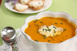 Carrot, Potato, and Apple Soup baby