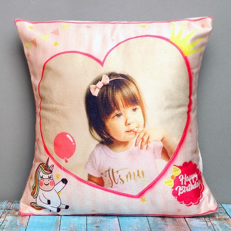 Customized Photo Printed Cushions & Personalized Pillows for Kids