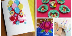 Kids Diwali Art, Children Craft Activities