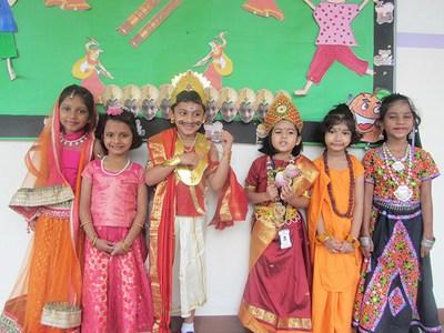 Kids diwali Fancy Dress Competition