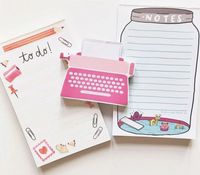 Kids baby NotePads and Stationery
