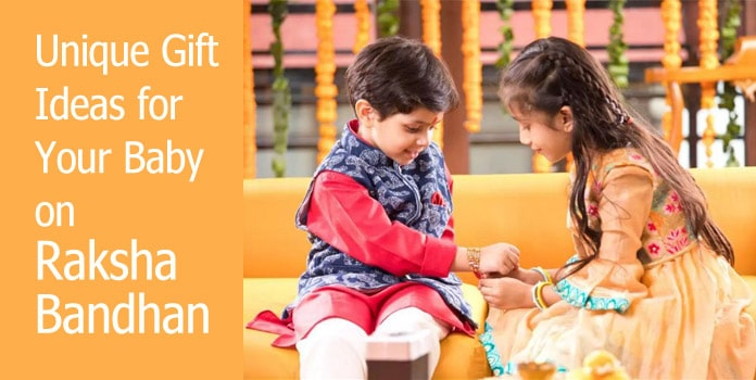 Baby Kids Rakhi Gift Ideas on Raksha Bandhan