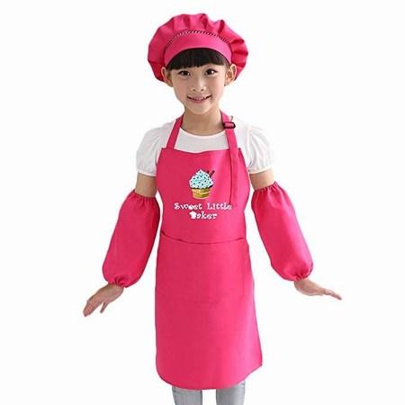 Children Kitchen Apron for Birthday Party Return Gifts