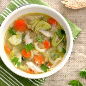 Seasonal Vegetable Soup baby