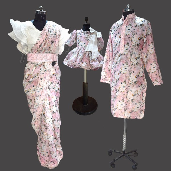Matching Dress for family for wedding