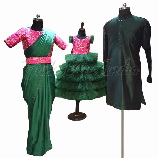 Indian wedding special family outfit